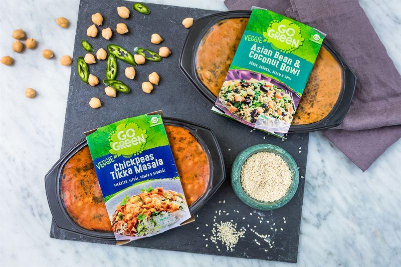 GoGreen lanserar fler veganska färdigrätter 1