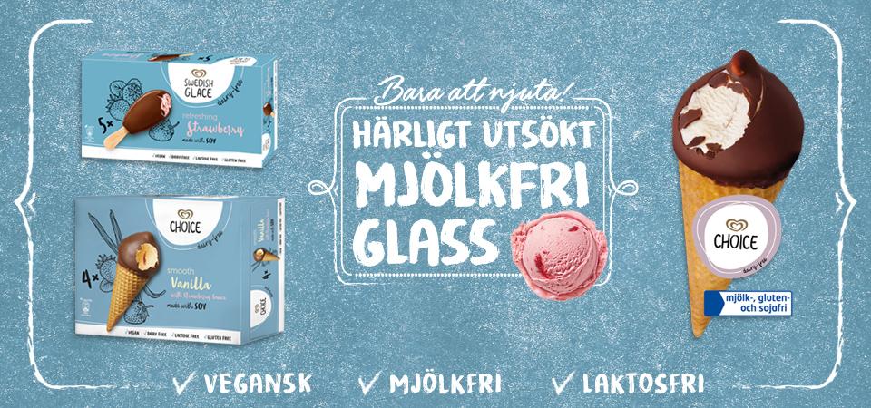 11 veganska glassar i GB Glace nya produktserie! 1