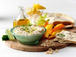 Hummus på fem sätt! 4