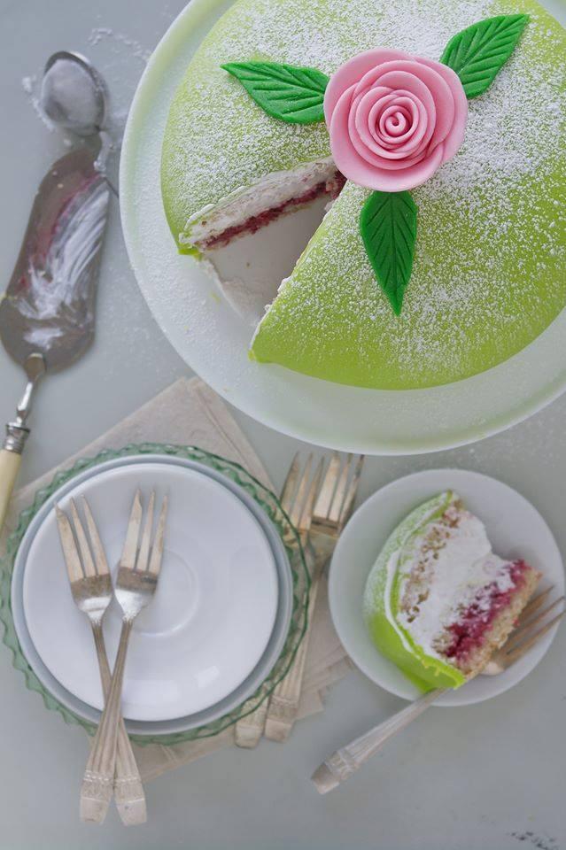Vegansk prinsesstårta på 5 sätt 1