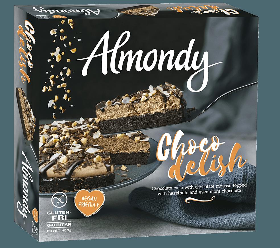 Almondy lanserar vegansk chokladkaka!