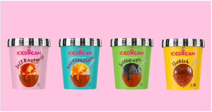 SIA Glass lanserar vegansk glassdröm - säg hej till Ice Dream! 1
